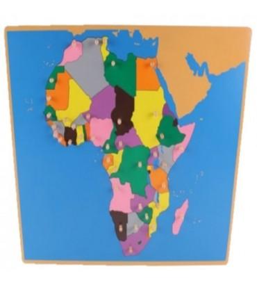PUZZLE CARTE DE L'AFRIQUE