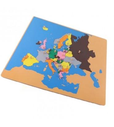PUZZLE CARTE DE L'EUROPE