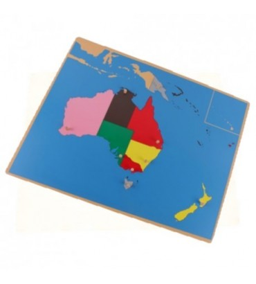 PUZZLE CARTE DE L'AUSTRALIE